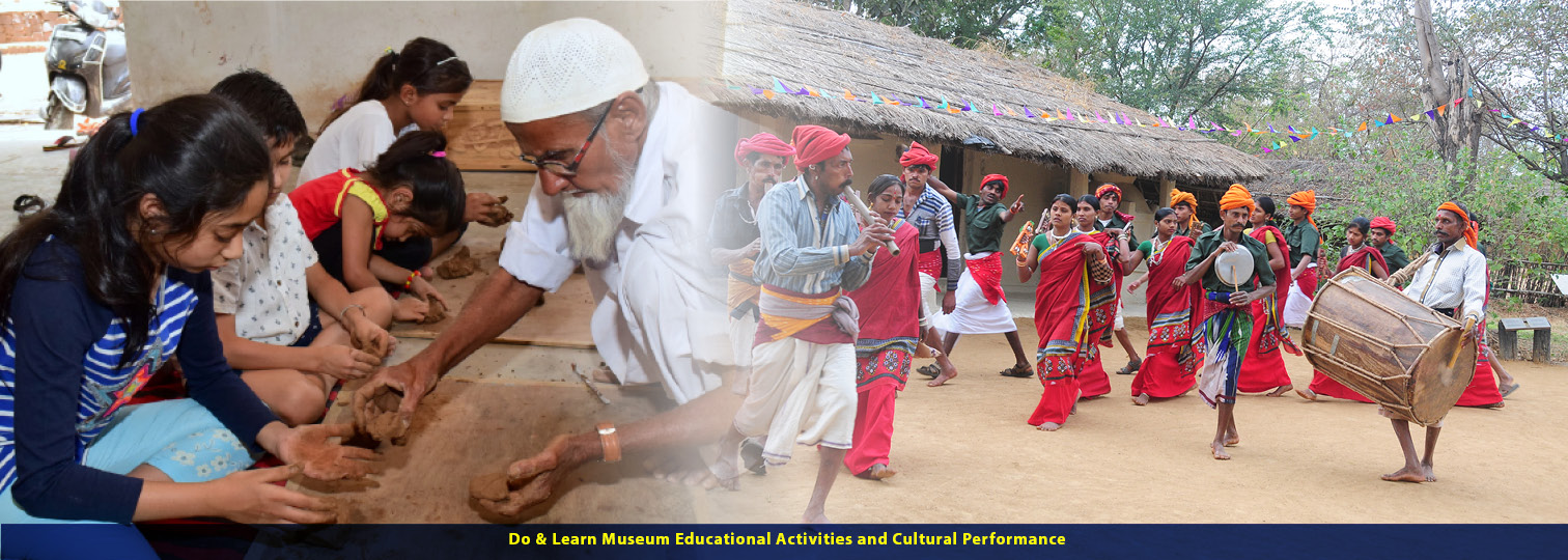 प्रदर्शनियां -Exhibitions DO and Learn Museum Educational Programs and Tribal as Co curator of the exhibitions